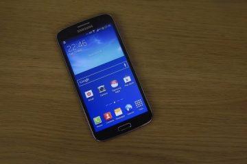 O Samsung Grand Prime é resistente à água?