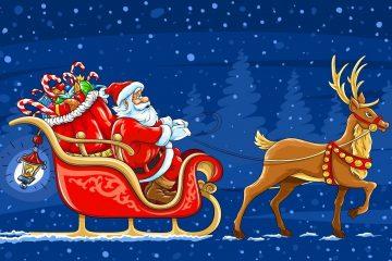 Aplicações para ligar para o Papai Noel