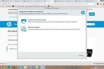 Como conectar e configurar a impressora de rede passo a passo
