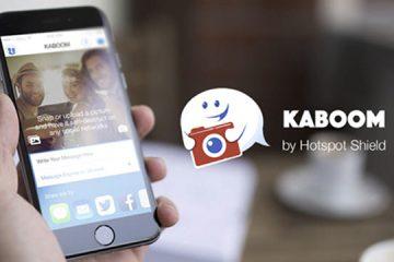 Autodestrua suas mensagens de texto do WhatsApp ou Twitter com o Kaboom