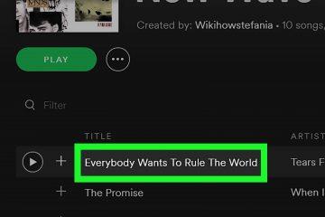 Como se inscrever em uma lista de reprodução Spotify