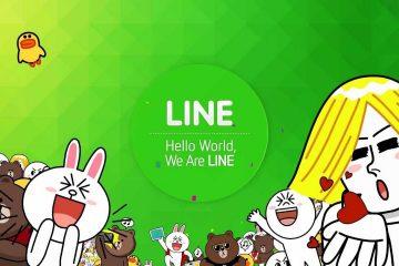 Como mudar meu status no LINE?