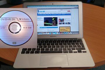 Como gravar o sistema operacional Mac em um DVD?
