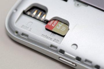 Por que meu celular não reconhece o cartão SD?