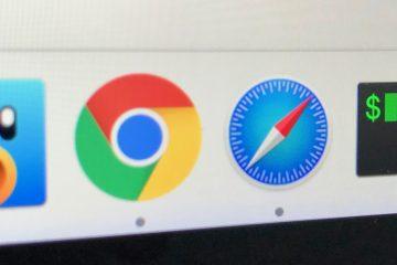 Como exibir o URL do Safari no Mac?