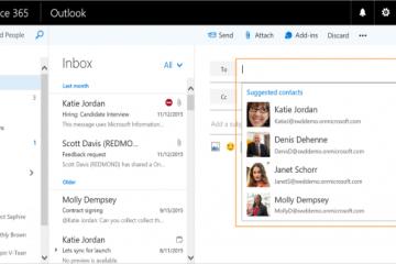 Tudo o que há de novo no email do Outlook