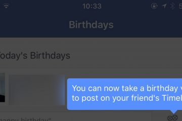 Como esconder seu aniversário e idade no Facebook?