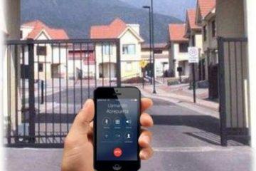 É assim que você pode abrir um portão elétrico usando seu telefone celular