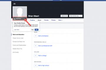 Como tornar minha foto do perfil do Facebook privada?
