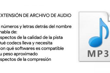 Extensão de arquivos de áudio; O que são, para que servem e que tipos existem?