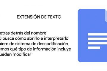 Extensão de arquivo de texto; O que são, para que servem e que tipos existem?