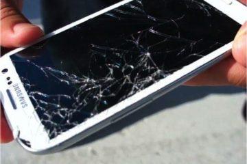 O celular caiu e a imagem NÃO é vista [Tela preta]