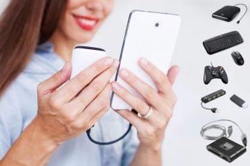 Samsung Galaxy é compatível com cabo OTG
