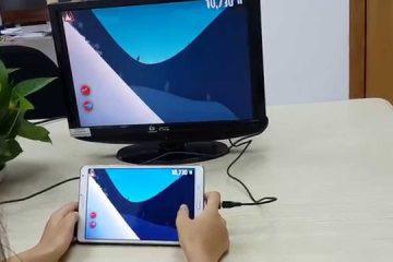 Como conectar o Samsung Galaxy J5 via HDMI