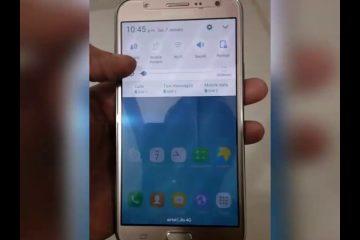 Meu Samsung Galaxy J7 Prime ficou preso e NÃO PODE Desligar