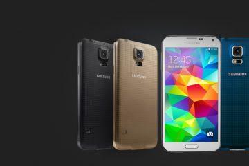 Atualização do Samsung Galaxy S5 e S5 Sport para o Android Marshmallow