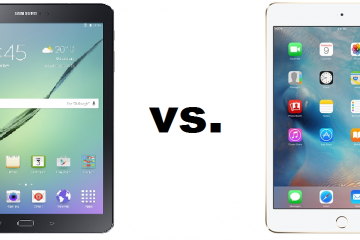 Samsung Galaxy Tab S2 vs iPad Mini 4 Qual é melhor?