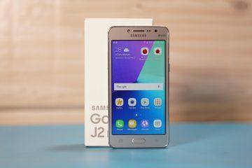 O Samsung J2 Prime é resistente à água?