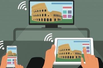 Como conectar um PC a uma Samsung Smart TV via Wifi no Windows 10