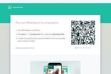 Como corrigir o acesso recente ao WhatsApp Web