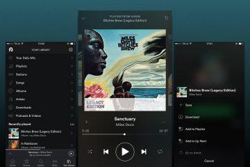 Como usar o Spotify em um telefone sem Android?