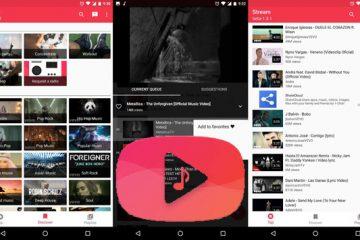 Reproduza músicas do YouTube através do seu Android