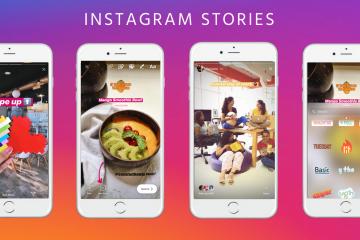 Como fazer upload de várias fotos em uma história do Instagram