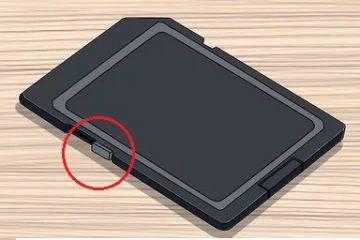 Como remover a proteção contra gravação de um cartão SD no Windows e Mac? Guia passo a passo