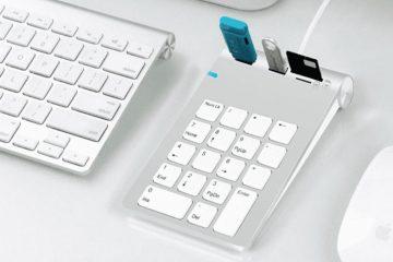 Como usar um teclado numérico como um mouse no Mac?