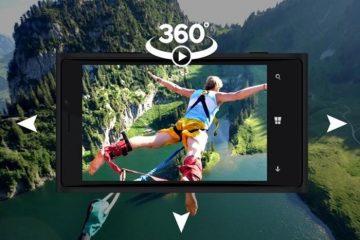 Como assistir a vídeos de 360 graus em um celular Android