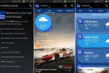 As 5 melhores aplicações meteorológicas no Android