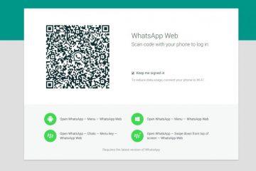 Como usar o WhatsApp Web sem digitalizar o código QR
