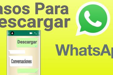 Como baixar conversas do WhatsApp para e-mail