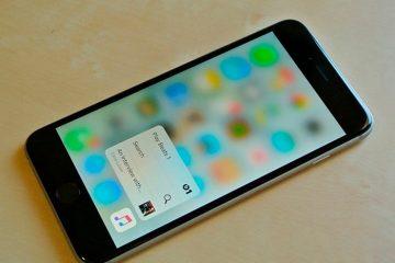 Como modificar a sensibilidade do 3D Touch no iPhone ou iPad