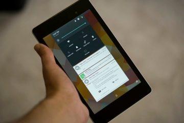 Instale o botão de notificações de descarte no Android L