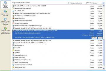 Aprenda sobre uma alternativa para Adicionar ou remover programas do Windows
