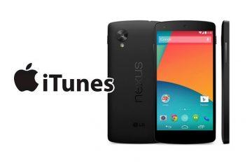 Transfira músicas do iTunes para o seu Android