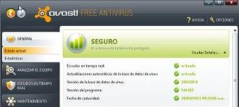 Antivírus atualizado