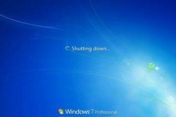 Corrigir problemas de desligamento do Windows