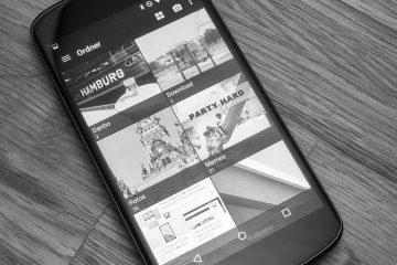 Aperture Gallery, uma galeria de fotos que concorre com o QuickPic