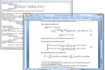Como criar fórmulas matemáticas no LaTeX e inseri-las no Microsoft Office