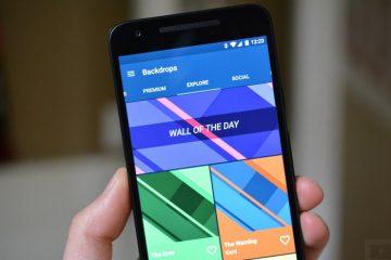Cenários, um aplicativo de papel de parede que faz você aproveitar