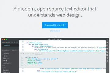 Brackets, um editor de código gratuito e software livre