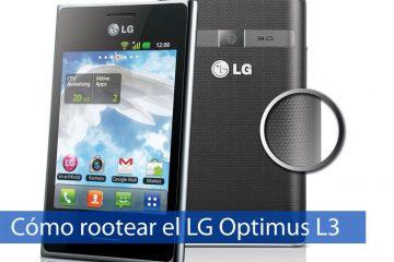 Como fazer root LG Optimus L3