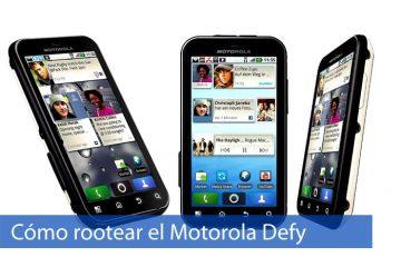 Como fazer root Motorola Defy