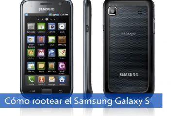 Como fazer root Samsung Galaxy S