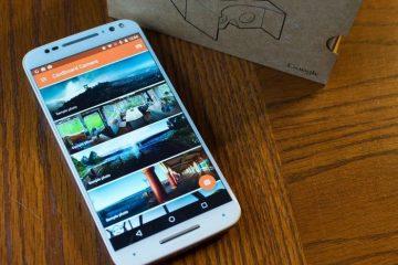 Câmera de papelão, tire fotos em realidade virtual com seu Android
