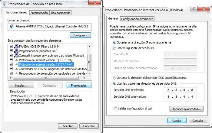 Alteração de DNS no Windows