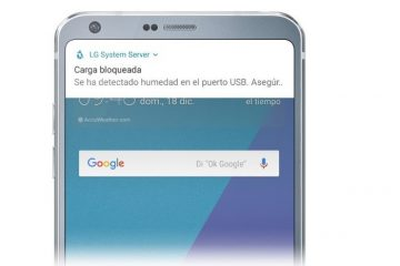 Carga bloqueada pela umidade no seu smartphone?