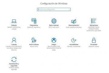 Envie links que, quando pressionados, abrem partes das configurações do Windows 10